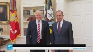 تفاعلات قضية تسريب ترامب معلومات سرية لروسيا