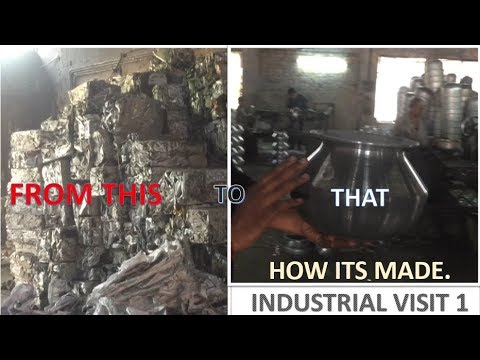 FROM SCRAP TO TAPELA AND HANDI.  HOW ITS MADE.  INDUSTRIAL VISIT 1