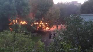 Самара. Взрыв автобуса на ташкентской. 24.09.2016.