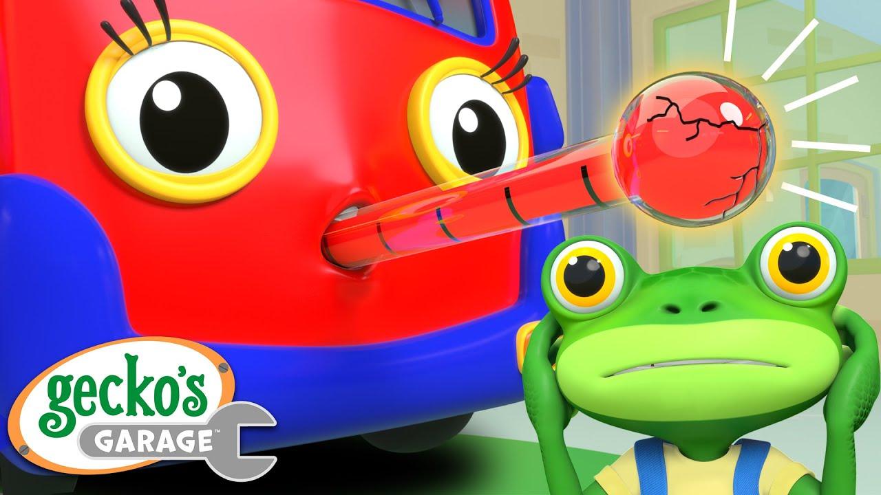 Baby Truck is Sick | Gecko's Garage | Trucks For Children | Cartoons For Kids