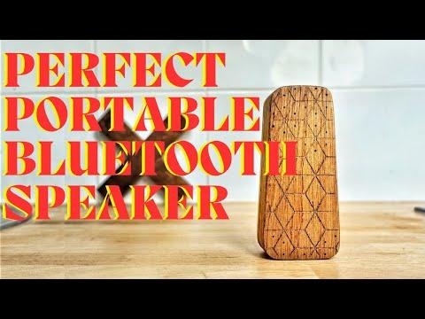 MUSHI  | Making a wood Bluetooth speaker | DIY