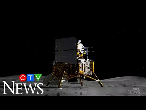 Chinese spacecraft collects moon samples