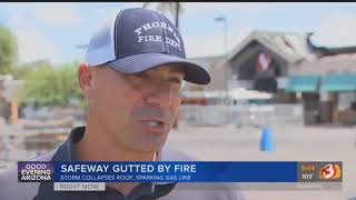 VIDEO: Previous monsoon storm may have led to Safeway inferno