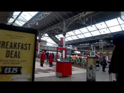 Underground & Overground - Preston Railway Station..Lancashire UK