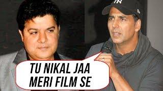 Akshay Kumar SACKS Sajid Khan From Housefull 4  Twinkle Khanna Angry Reaction