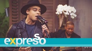 Jimmy Nevis performs