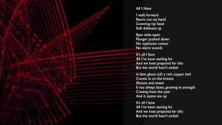 laki mera - All I Have - Lyrics
