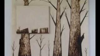 Tree Life!  (wood Burned Art)