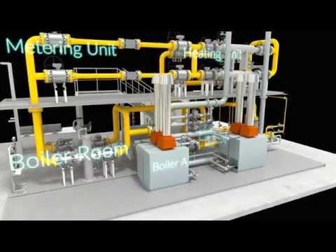 Pietro Fiorentini Pressure Reducing and Metering Station