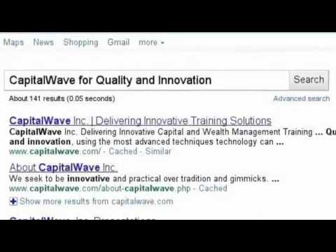 CapitalWave, Inc. - Innovative Financial Training Solutions