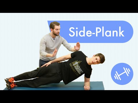 How to do the perfect SIDE PLANK: technique and common mistakes