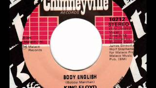 KING FLOYD  Body English 70s Soul & Disco