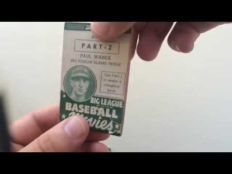 Paul Waner Flipbook Big League Baseball Movies