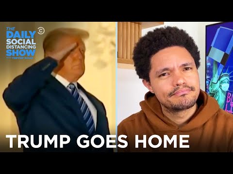 Trump Is Home and Back to Comparing COVID to the Flu | The Daily Social Distancing Show