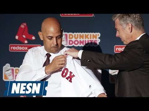 Alex Cora Is Introduced As Red Sox Manager