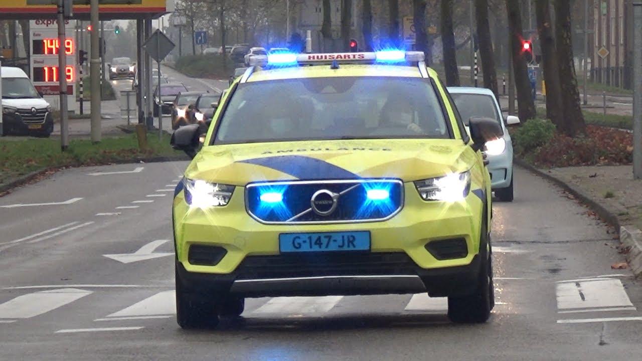 Download HAP, Ambulance en Politie met spoed naar verschillende meldingen in Purmerend!
