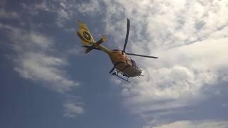Akcja ratunkowa śmigłowca LPR - Solina, Zapora