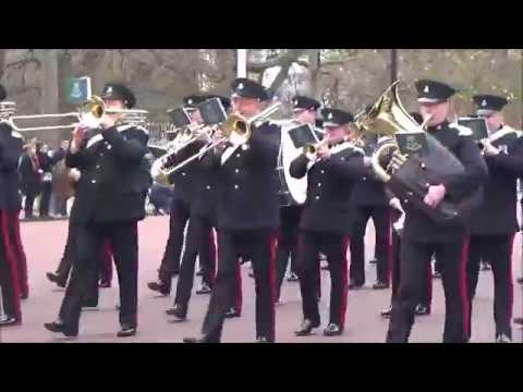 Changing the Guard Buckingham Palace 27 November 2016