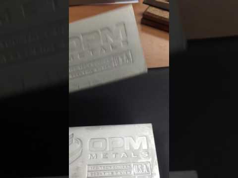 100 oz .999+ Silver Bars - OPM Metals