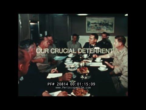 POSEIDON NUCLEAR MISSILE ABOARD POLARIS SUBMARINES DEPLOYMENT FILM 20814