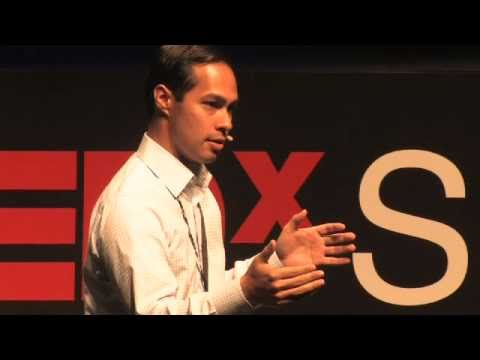 TEDxSanAntonio Julian Castro The Power of Education How it Changed My World