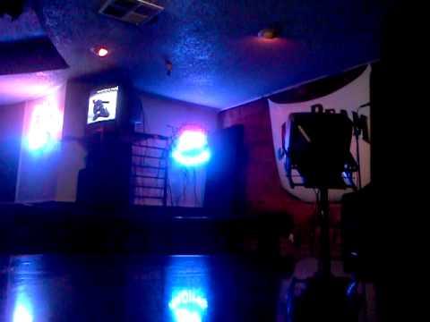 At a karaoke bar by me self in San Jose CA