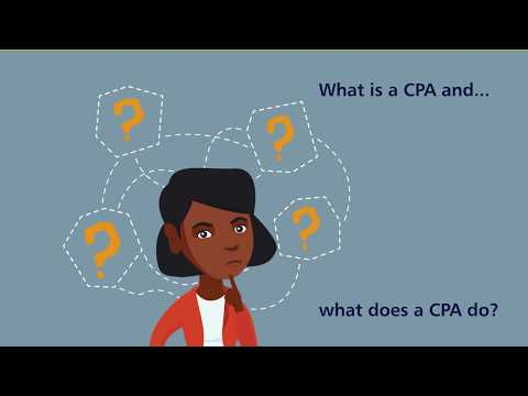 What is a CPA and What Does a CPA Do?