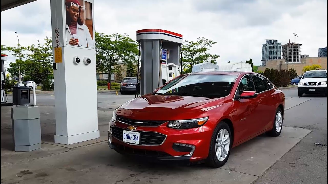 2018 Chevrolet Malibu Fuel Economy Review Fill Up Costs