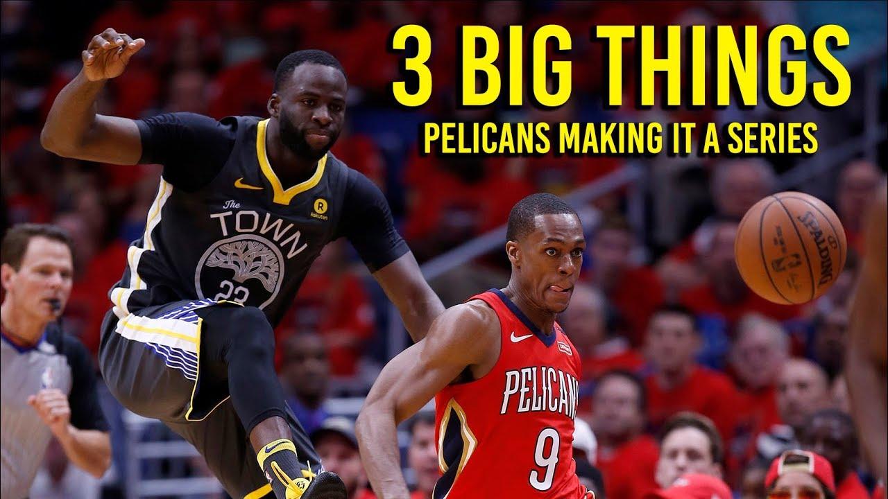 3 Big Things: Warriors lose to Pelicans 119 100 making series interesting