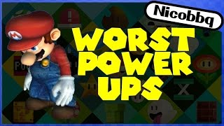 TOP 10 WORST MARIO POWER UPS!(Not all power ups are born equal... find out my personal worst! CHECK OUT THE BEST! https://youtu.be/XWkPYYOHYIs ▻ Thanks for Watching!, 2016-03-04T20:00:01.000Z)
