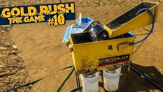 GOLD RUSH: The Game #10: Vorbereitungen für den MEGA-GOLDABBAU!   GOLDGRÄBER SIMULATOR