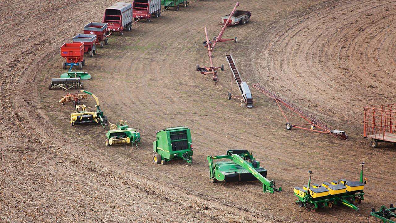 Equipment farm