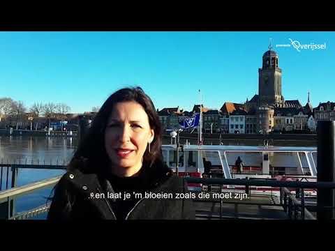 Stads- en retailcongres gedeputeerde Monique van Haaf