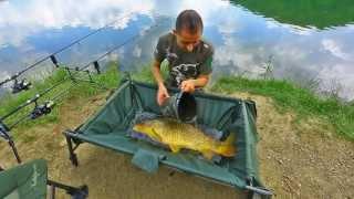 Matteo Marmocchi a pesca al lago Brasimone - carp fishing