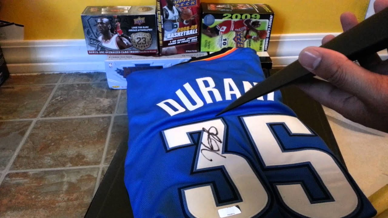 competitive price 9dbea c6dd9 Kevin Durant Autograph Jersey!