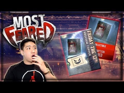 MOST FEARED PREVIEW!! FRIDAY 13TH PACK!! MADDEN MOBILE 18