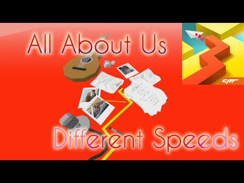 Dancing Line - All About Us (Different Speeds 25% - 1000%)