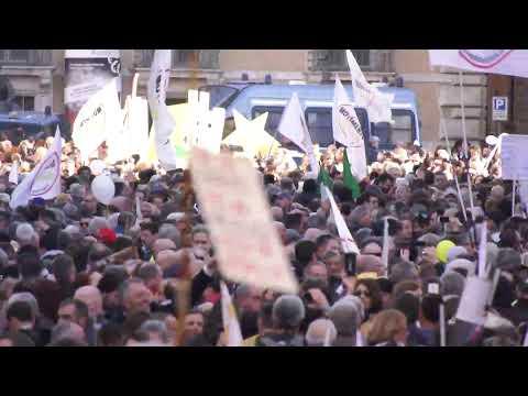 In diretta da Roma per l'evento #MaiPiùVitalizi