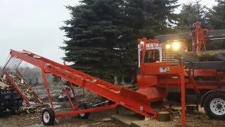 Multitek 2040 XP90 Firewood Processor  - Firewood for Sale Ozaukee County - Belgium WI Firewood -
