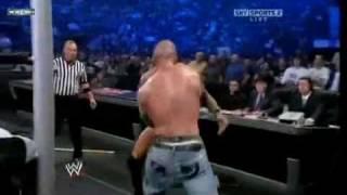 John Cena vs Randy Orton I Quit match