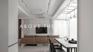ABOVE THE REST   Double storey   Interior design    by Pins studio
