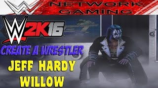 WWE 2K16 CAW Jeff Hardy Willow TNA Wrestling Community Creations PS4 XBOX ONE