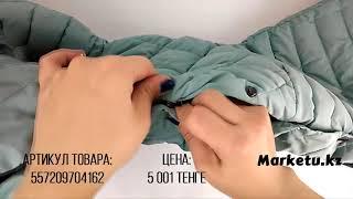 Видео обзор женской зимней куртки заказанной из Китая на Marketu.kz