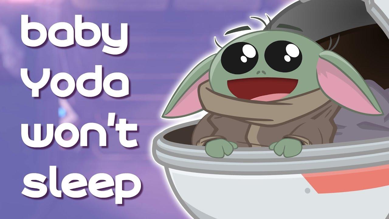 Download baby Yoda won't sleep