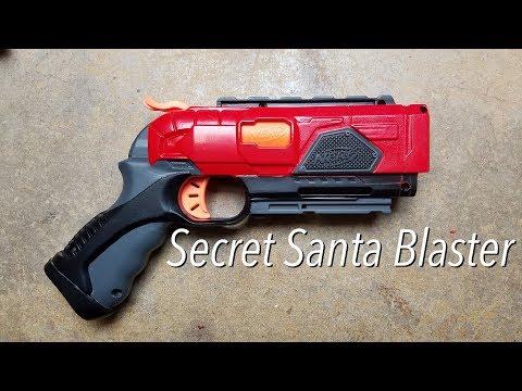 "Nerf Community ""Secret Santa"" Build - Custom Doublestrike Integration"