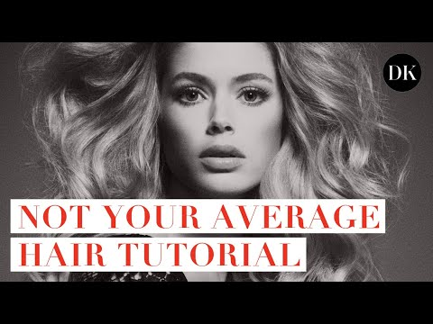 NOT YOUR AVERAGE HAIR TUTORIAL • DOUTZEN DIARIES