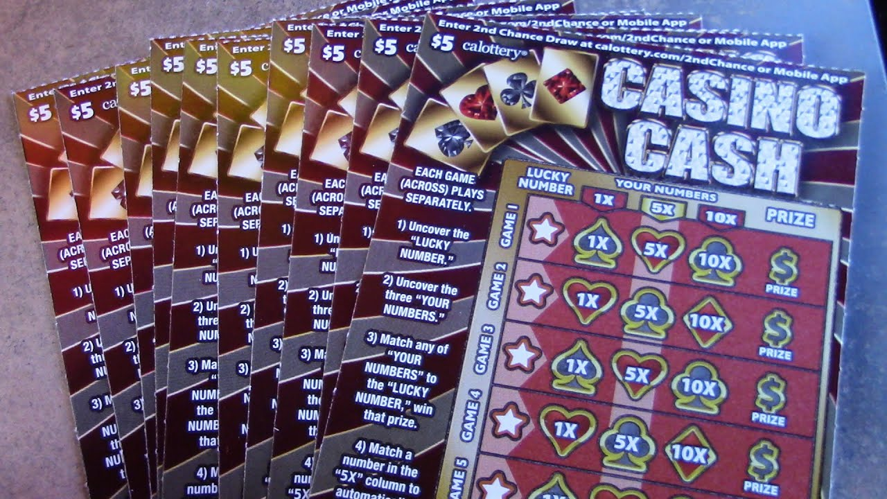 10 IN A ROW OF THE CASINO CASH TICKETS!!!!!!