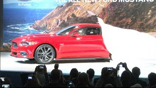 CJ Pony Parts at the 2015 Mustang Unveiling in Dearborn, MI