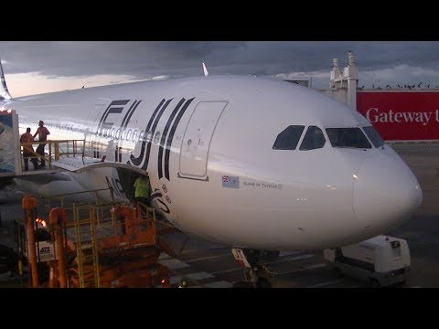 Flightreport//Fiji Airways / Virgin Australia//Adelaide-Sydney-Nadi//Airbus A330-200