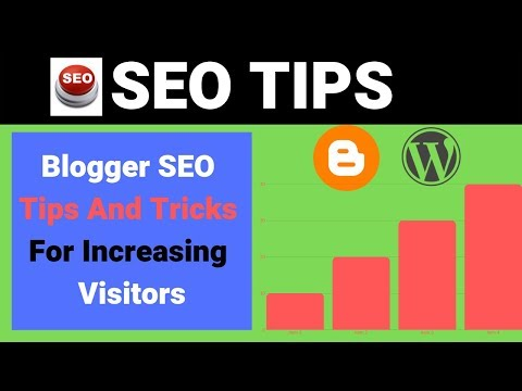 Seo Tips:Blogger SEO Tips And Tricks For Increasing Visitors 2019 in Hindi